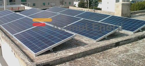 Solar Güneş Enerji Ev Sistemleri Düz Çatı Solar Panel Uygulama