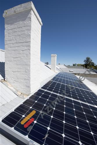Özel çatı mimarisine uygun solar çatı uygulamaları